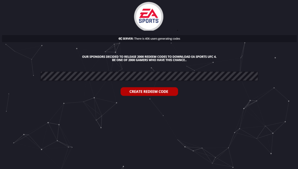 EA Sports UFC 4 Redeem Code